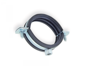 SILENTA FR FLAME RETARDANT CLAMP WITH NUT - HORIZANTAL